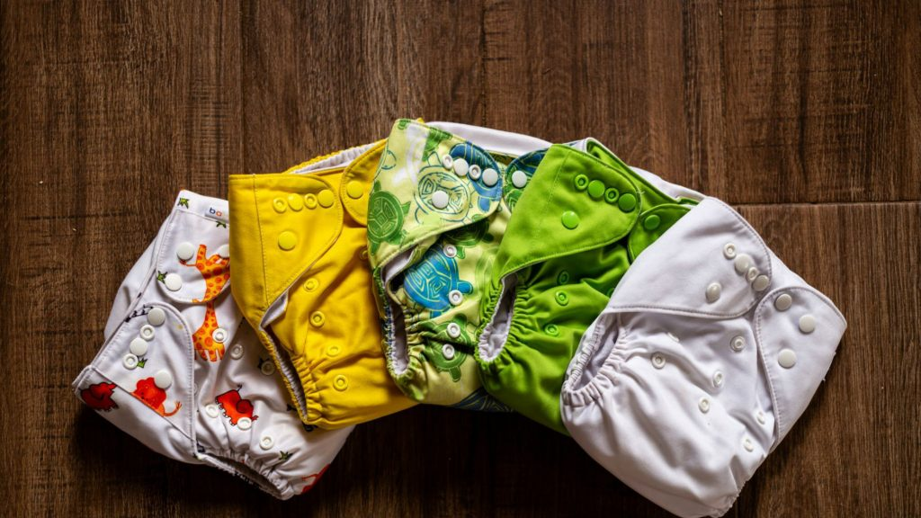 Cloth Diapers Are Best To Avoid Skin Rashes